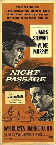 NIGHT PASSAGE FILM POSTER 3