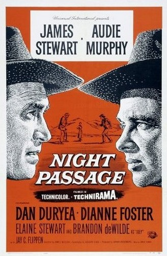 NIGHT PASSAGE FILM POSTER 5.