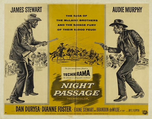 NIGHT PASSAGE FILM POSTER 6