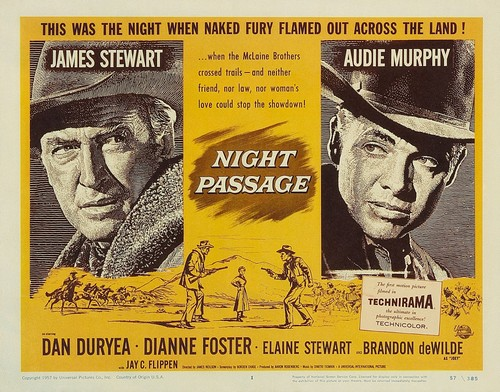 NIGHT PASSAGE FILM POSTER 9