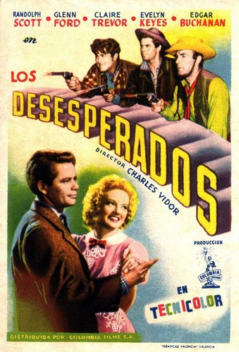 THE DESPERADOS FILM POSTER 5