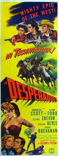 THE DESPERADOS FILM POSTER 6