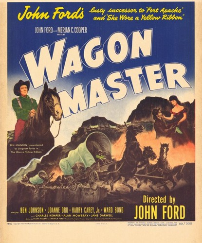 WAGON MASTER FILM POSTER 1