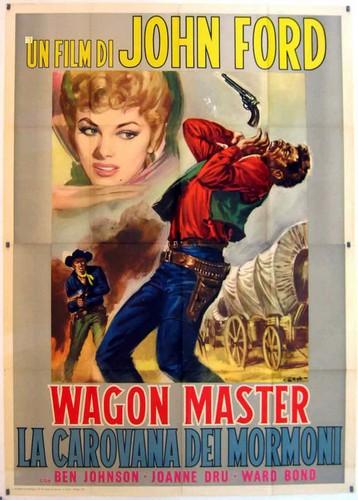 WAGON MASTER FILM POSTER 7