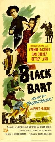 BLACK BART FILM POSTER 1