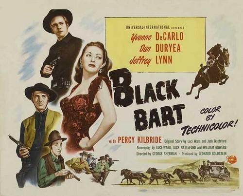 BLACK BART FILM POSTER 2