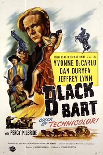 BLACK BART FILM POSTER 3