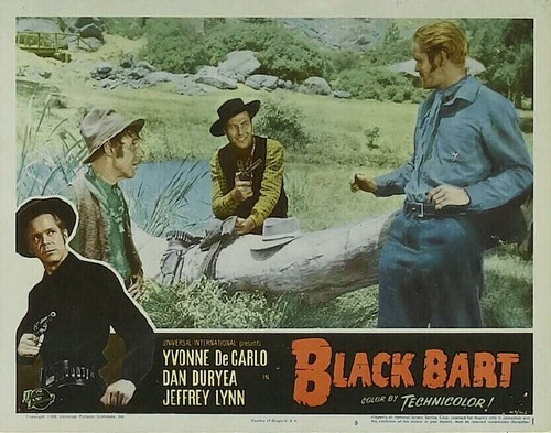 BLACK BART LOBBY CARD 1