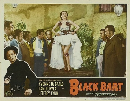 BLACK BART LOBBY CARD 2