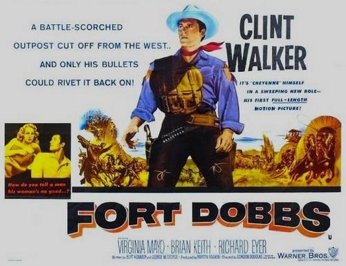 FORT DOBBS FILM POSTER 1
