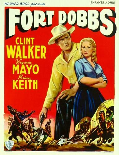 FORT DOBBS FILM POSTER 4