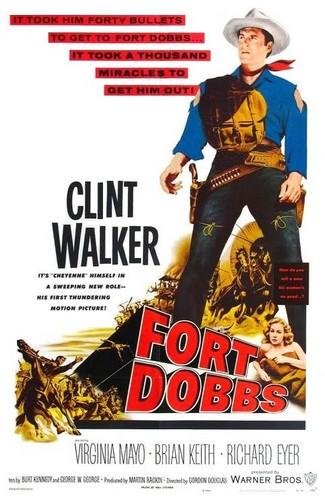 FORT DOBBS FILM POSTER 9