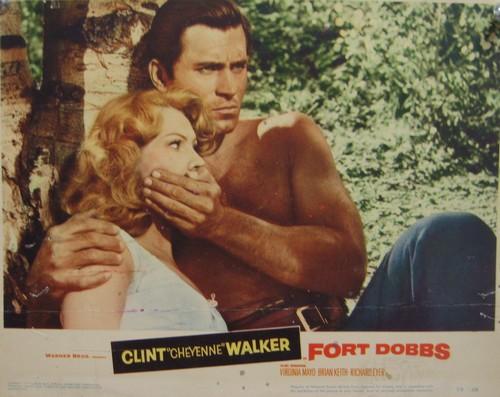FORT DOBBS LOBBY CARD 1