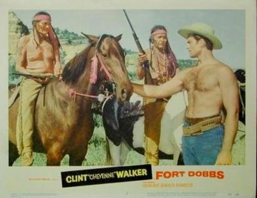 FORT DOBBS LOBBY CARD 2