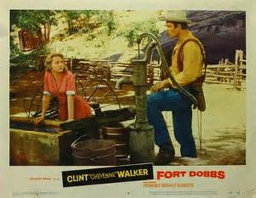 FORT DOBBS LOBBY CARD 7