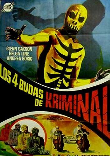 IL MARCHIO DI KRIMINAL FILM POSTER 1