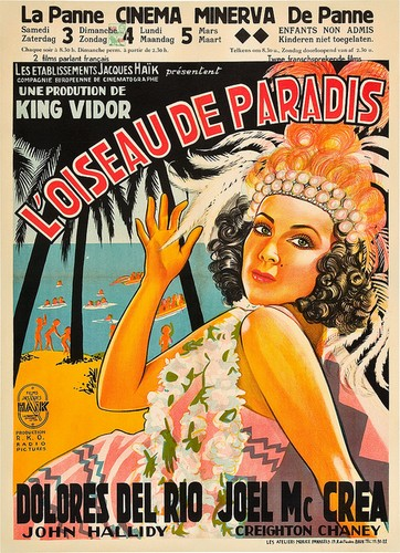BIRD OF PARADISE FILM POSTER 2