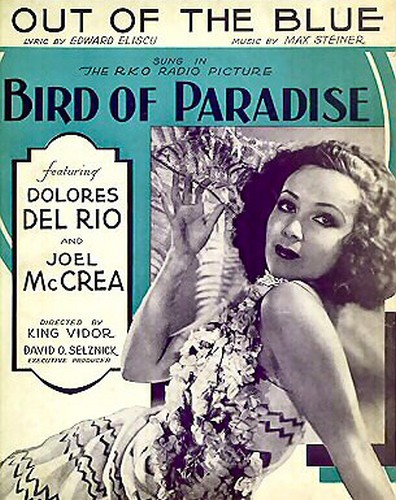 BIRD OF PARADISE FILM POSTER 4