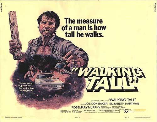WALLKING TALL FILM POSTER 2