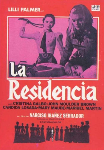 LA RESIDENCIA FILM POSTER 1