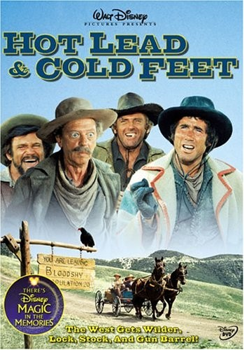 HOT LEAD & COLD FEET DVD COVER