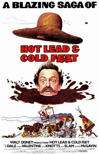 HOT LEAD & COLD FEET FILM POSTER 1
