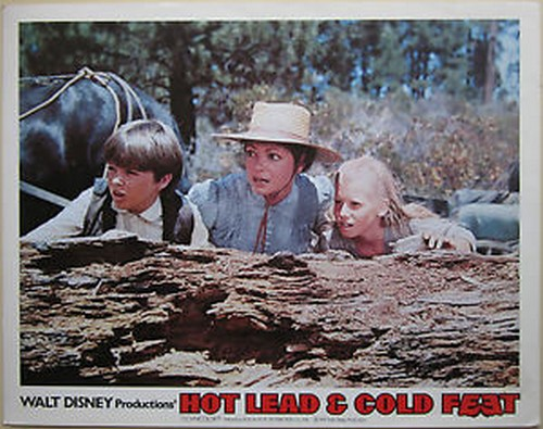 HOT LEAD & COLD FEET LOBBY CARD