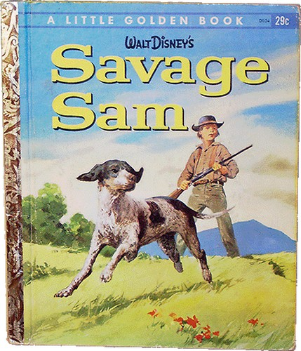 SAVAGE SAM BOOK COVER