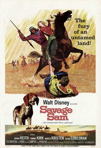 SAVAGE SAM FILM POSTER 1