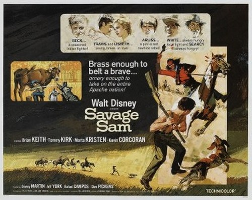 SAVAGE SAM FILM POSTER 5