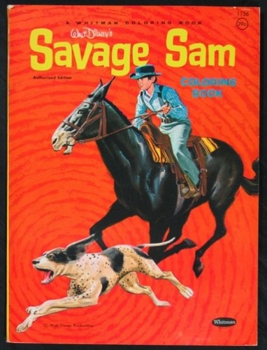 SAVAGE SAM FILM POSTER 7