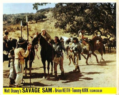 SAVAGE SAM LOBBY CARD 1