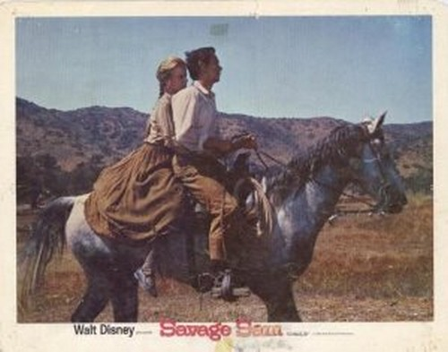 SAVAGE SAM LOBBY CARD 11
