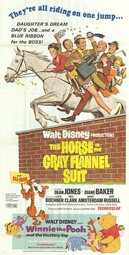 THE HORSE IN THE GRAY FLUNNEL SUIT FILM POSTER 4