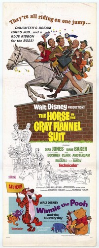 THE HORSE IN THE GRAY FLUNNEL SUIT FILM POSTER 6