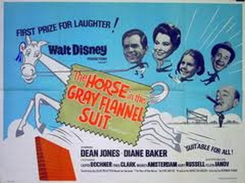 THE HORSE IN THE GRAY FLUNNEL SUIT FILM POSTER 7