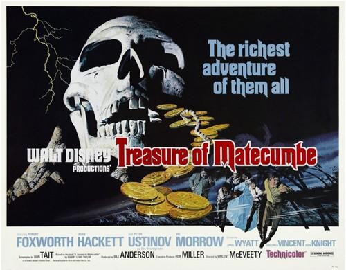TREASURE OF MATECUMBE FILM POSTER 2