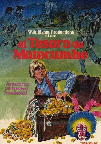 TREASURE OF MATECUMBE FILM POSTER 4