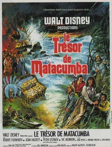 TREASURE OF MATECUMBE FILM POSTER 5