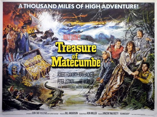 TREASURE OF MATECUMBE FILM POSTER 6