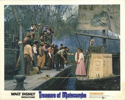 TREASURE OF MATECUMBE LOBBY CARD 3