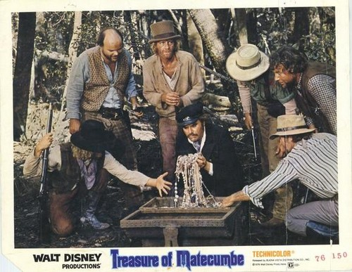 TREASURE OF MATECUMBE LOBBY CARD