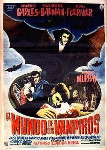 EL MUNDO DE LOS VAMPIROS FILM POSTER  2