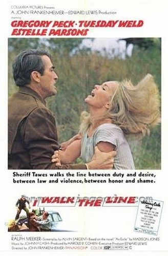 I WALK THE LINE FILM POSTER 1