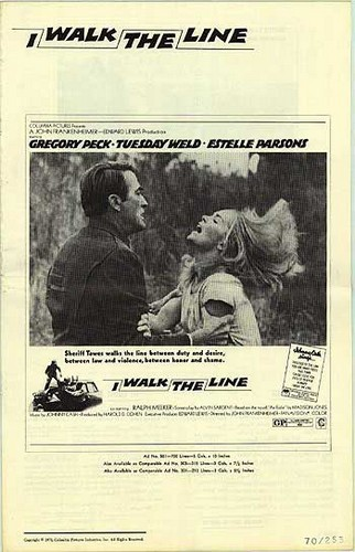 I WALK THE LINE FILM POSTER 10
