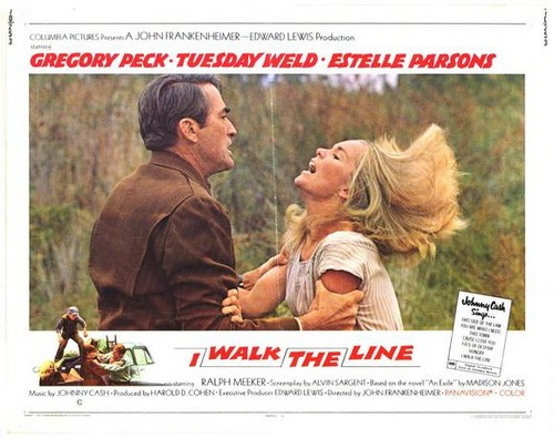 I WALK THE LINE FILM POSTER 11