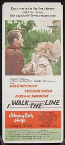 I WALK THE LINE FILM POSTER 3