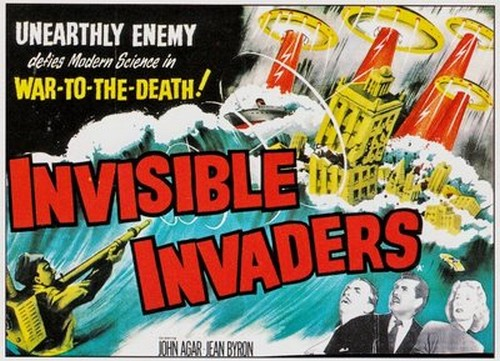 INVISIBLE INVADERS FILM POSTER 1