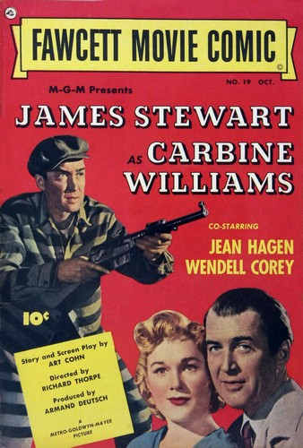 CARBINE WILLIAMS COMICS COVER