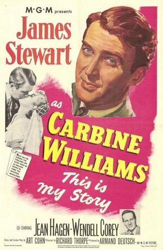 CARBINE WILLIAMS FILM POSTER 1